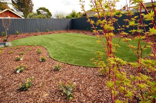 Curved Synthetic Turf