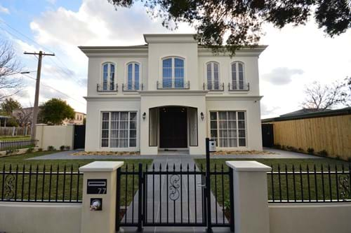 Metricon Bordeaux landscaping